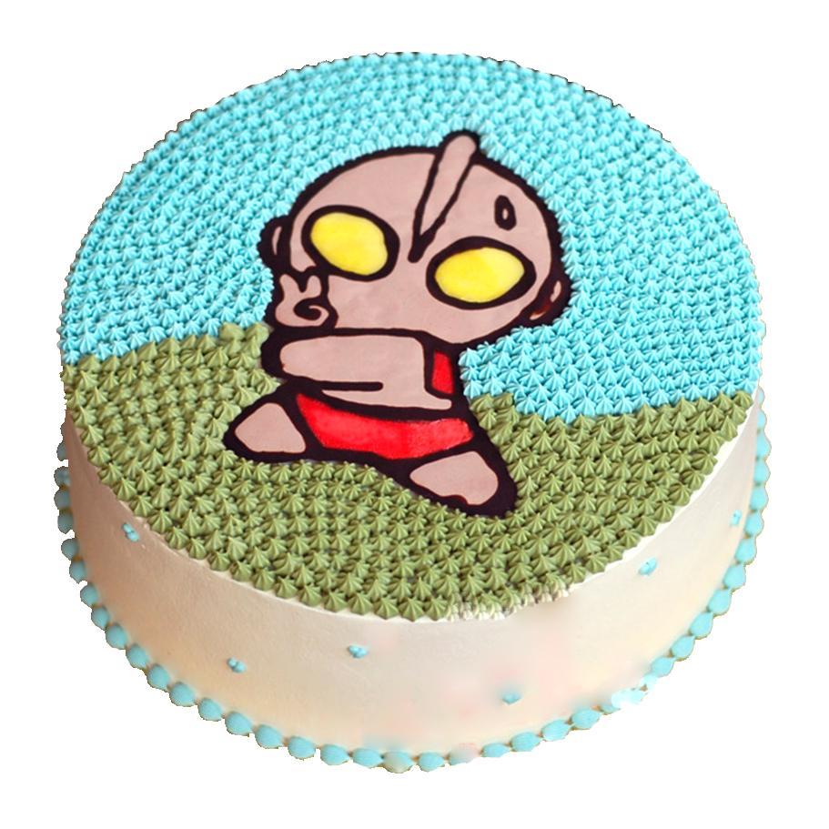 卡通蛋糕|奥特曼三