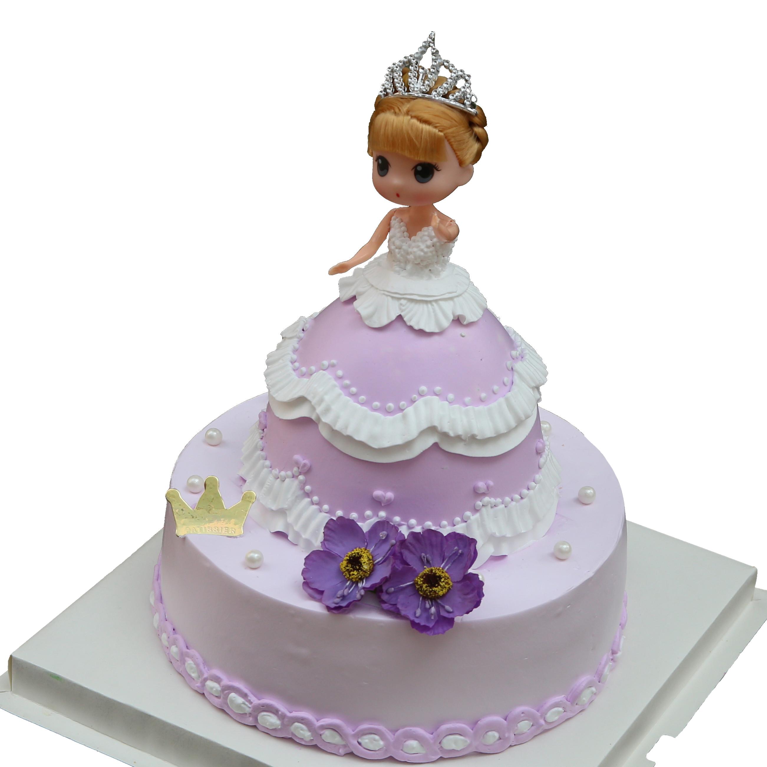 芭比蛋糕|可爱公主