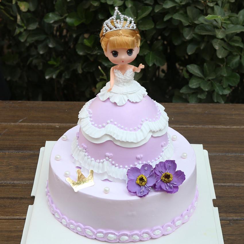 芭比蛋糕 可爱公主